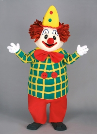 Laufillusion Clown