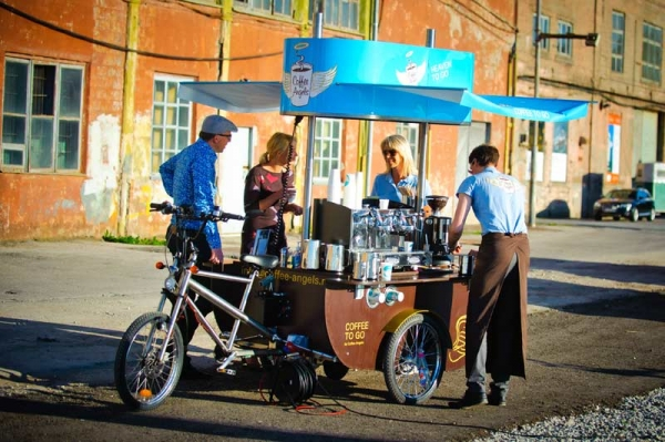 Coffeebike / Coffee-Station